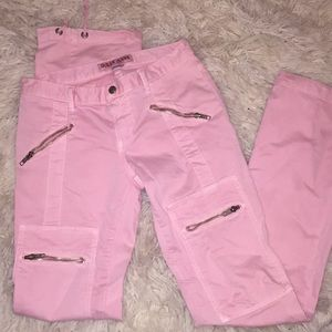 Vintage 2000s Guess Baby Pink Pants